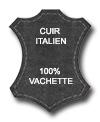 Ceinture en cuir italien